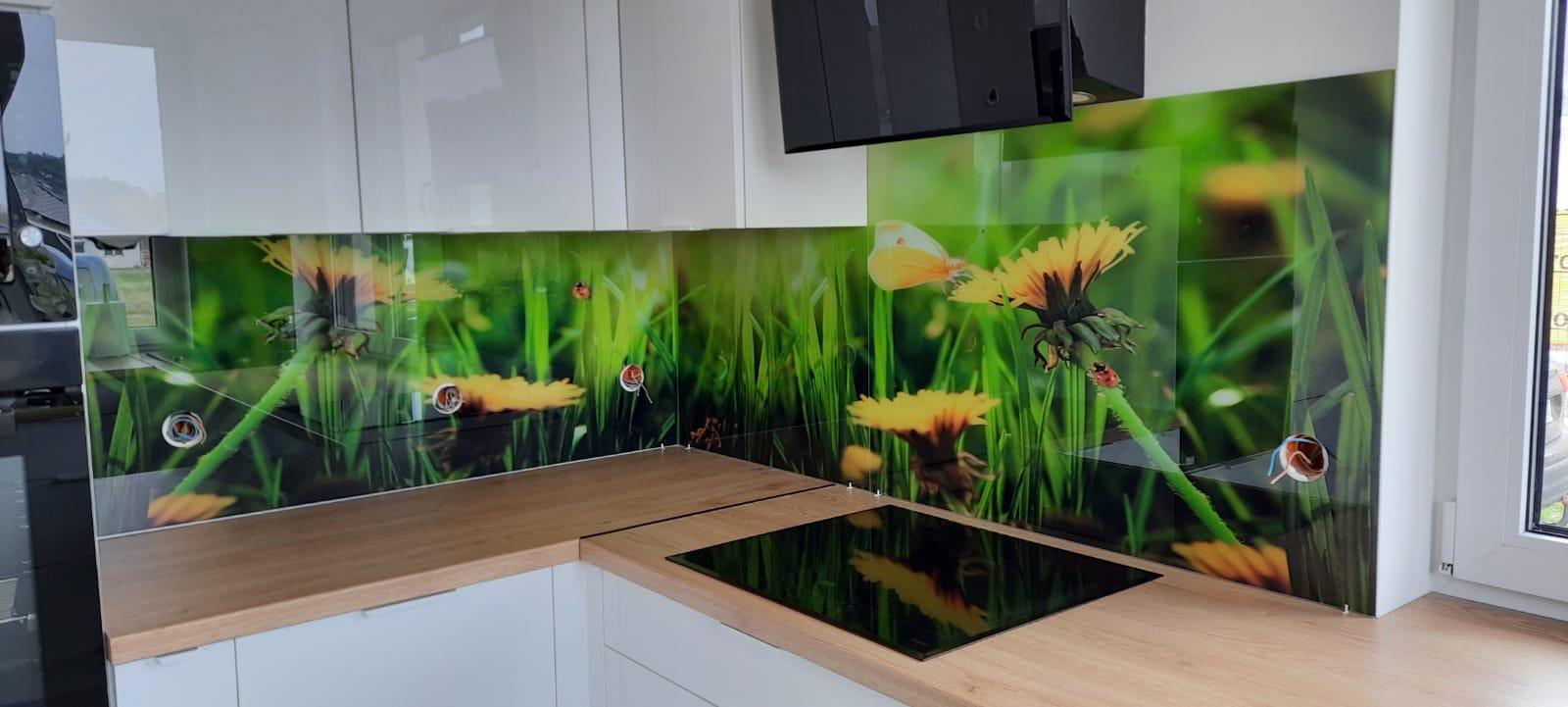 Kuchenne panele szklane